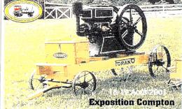 Antique Forano Engine - 10 X 6 Cm - Advertizement Antique Machinery - Machines D'Antan Estrie - 2 Scans - Other