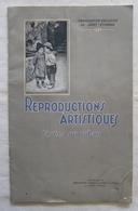 Catalogue ~1910 Manufacture D'Armes & Cycles De Saint-Etienne - Reproductions Artistiques Tissées Sur Ruban - Manufrance - Kleding & Textiel