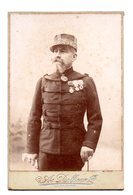 La Fleche. Général De ?.... Signature Au Dos. Photo Dolbeau. 1902. - La Fleche