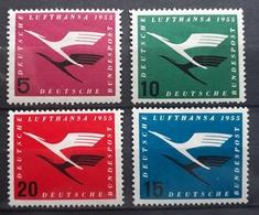 BRD 1955, Mi 205-208 MNH Postfrisch - [7] République Fédérale