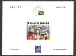 T38 - Belgique -  Thème BD Luc Orient - Philabédés (comics)