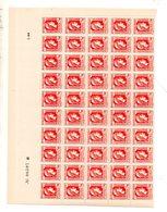 St  1944 Marianne Alger 641 1/2 Feuille ** - Full Sheets
