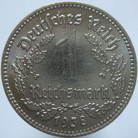 LaZooRo: Germany 1 Mark 1938 E XF / UNC - 1 Reichsmark
