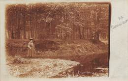 77-FONTAINEBLEAU- CARTE-PHOTO MARE A BAUGE 1906 FORET DE FONTAINEBLEAU - Fontainebleau