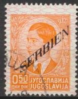 Serbien 32 O - Besetzungen 1938-45