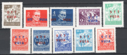 Trieste B 1949 Sass.7/16 **/MNH VF - Trieste