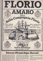 (pagine-pages)PUBBLICITA' AMARO FLORIO   Gente1978/49. - Libri, Riviste, Fumetti