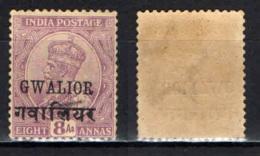 GWALIOR - 1928 - EFFIGIE DEL RE GIORGIO V - MNH - Gwalior