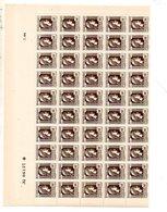 St  1944 Marianne Alger 634 1/2 Feuille ** - Feuilles Complètes