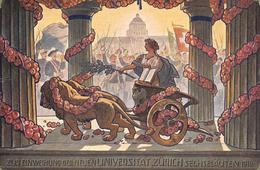 Zürich Sechseläuten  1914  1 - ZH Zurich