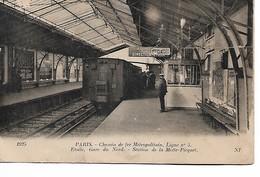 PARIS - Chemin De Fer Métropolitain - Ligne 5 - Etoile La Motte Picquet - Notre Dame De Paris
