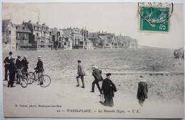 LA NOUVELLE DIGUE - PARIS-PLAGE - Le Touquet