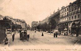 12942       TOULOUSE   LA RUE DE METZ ERT LA PLACE ESQUIROL - Toulouse