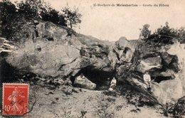 Carte Postale Ancienne - Circulé - Dép. 45 - MALESHERBES - La Grotte Du Hibou - Malesherbes