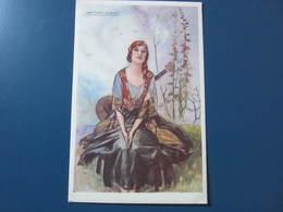 Carte Postale Illustrateur MAUZAN Femme Bohème - Mauzan, L.A.