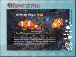 Papua New Guinea 2019. Anemonefish (MNH OG) Souvenir Sheet - Papouasie-Nouvelle-Guinée