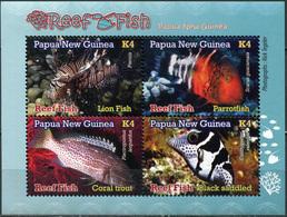 Papua New Guinea 2019. Reef Fish (2019) (MNH OG) Souvenir Sheet - Papua New Guinea