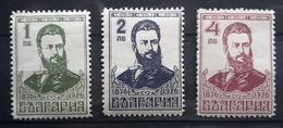 Bulgarien 1926, Mi 196-98 MNH Postfrisch - Unused Stamps