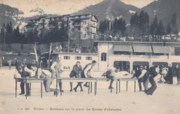Villars - Gymkana Sur La Glace - La Course D'obstacles - VD Vaud