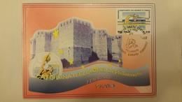 Italia Fdc Maximum Card 1999 Campionati Europei Femminili Di Pallanuoto - Cartes-Maximum (CM)