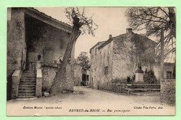 CPA - REVEST-du-BION - Rue Principale - - France