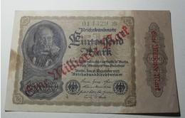 1922 - Allemagne - Germany - 1 MILLIARDE MARK / 1000 MARK - 15 Dezember 1922 - 014329 - [ 3] 1918-1933 : Repubblica  Di Weimar