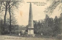- Val D'oise -ref-667- Boissy L Aillerie -colonne Des De Lameth -verso Cachet Gardes Des Voies ..- Marcophilie - - Boissy-l'Aillerie