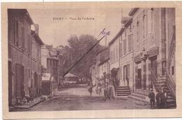 Dépt 12 - FIRMY - Place Du Faubourg - Animée (au Fond : Manège Et Roulotte) - Firmi