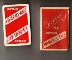 Jeu De 32 Cartes Offert Par Un Pastis VIVARAIS ANIS Avec Boite - 32 Cartes
