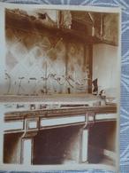 93 AUBERVILLIERS - Usine Saint Gobain  INTERIEUR DE L'USINE VUE DU LABORATOIRE  PHOTO ORIGINALE VERS 1920 B 12 X 9 CM - Aubervilliers