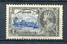 CYPRUS - Postmark LEFKA On 1935 KGV ¾ Pi Silver Jubilee  SG 144 .CHYPRE - Cyprus (...-1960)