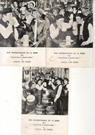 D70  LUXEUIL LES BAINS. FETE DE LA BIERE SAMEDI 31 AOUT 1968. GAUCH'NOTS ET GAUCH'NOTTES LOT DE 3 CPSM - Luxeuil Les Bains