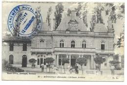 GOUVERNEMENT ROYAL * DE MONTENEGRO * Sur Carte (pelurage) De Mérignac 1916 - Marcophilie (Lettres)