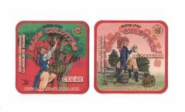 Capsules Ou Plaques De Muselet  SOUS BOCKS  BIÈRE DES SANS CULOTTES  De BRASSERIE LA CHOULETTE  RECTO VERSO - Beer Mats