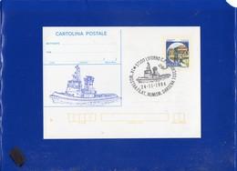 ##(DAN203)-1985-Cartolina Postale L.300, Stampa Privata-repiquage Rimorchiatore Tito Neri Quarto Edizione Numerata -ship - Ganzsachen
