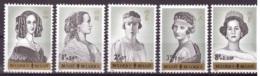 Belgique 1962 - MNH** - Familles Royales - Michel Nr. 1293-1297 Série Complète (bel125) - Nuovi