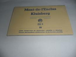 Kluisbergen:kluisberg Accordeonboekje 10 Stuks - Kluisbergen