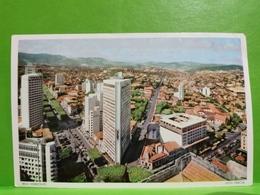 Carta Postale, Belo Horizonte Enviada Ao Luxembourg 1954 - Belo Horizonte
