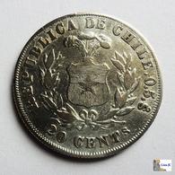 CHILE - 20 Centavos - 1881 - Chile