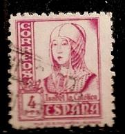 ESPAGNE      N°   588    OBLITERE - 1931-Aujourd'hui: II. République - ....Juan Carlos I