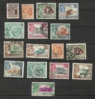 Chypre N°156, 158, 159, 161 à 166, 173 à 175, 177, 178, 180, 182 Cote 12.65 Euros - Usados