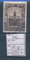 BELGIUM  COB 436 USED - Belgio