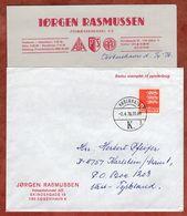 Brief Mit Inhalt, Reichswappen, Kobenhavn Nach Karlstein 1976 (91633) - Cartas