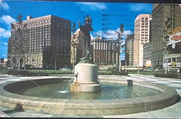 Detroit Michigan 1962 Grand Circus Park. - Detroit