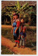 C. P.  PICCOLA    THAI  LISO  HILL-TRIBE  WOMAN IN HER BEAUTIFULL NATIVE-DRESS       2 SCAN  (NUOVA) - Tailandia