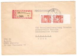 IZ401   DDR 1983 R-Brief  Görlitz 3 - Briefe U. Dokumente