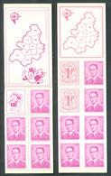 OCB Nr B1 + B2 Boudewijn Baudouin Marchal 1484 1485 MNH !! - Booklets 1953-....