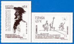 España. Spain. 2016. DISELLO. Cervantes. El Quijote - 1931-Hoy: 2ª República - ... Juan Carlos I