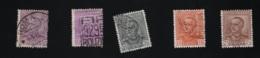 1928 /1929 Emanuelle III Mi IT 281 - 84  Yt IT 204 - 07 Sg IT 223 - 26 - Gebraucht