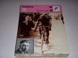 PHOTO CYCLISME 16x12 Nicolas FRANTZ LUXEMBOURG TOUR De FRANCE 1928 PALMARES - Deportes